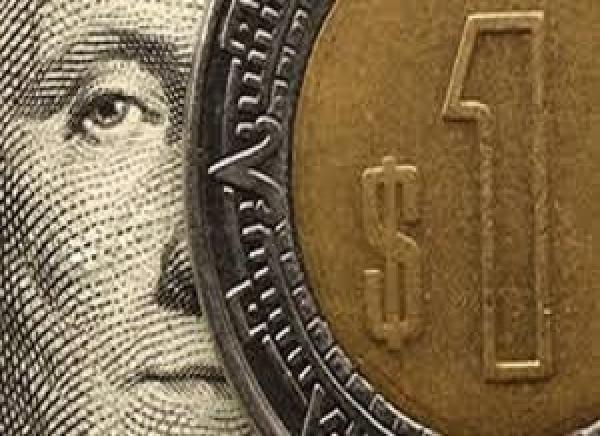 Registra peso su mejor jornada; dólar se cotiza en 19.30