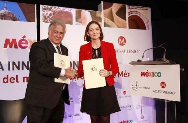 Suscriben México y España acuerdo en materia Turística