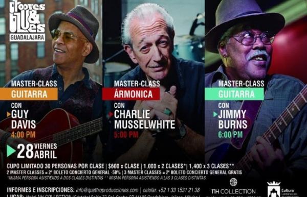 Primer Festival de Blues y Música Afroamericana en Jalisco