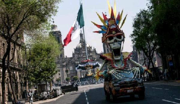 Homenaje a la cocina mexicana en celebración del día de Muertos.