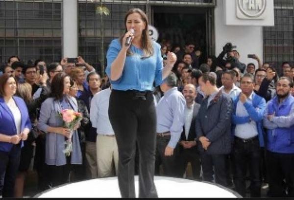 Abentaja coalición Por Puebla al Frente, gubernatura