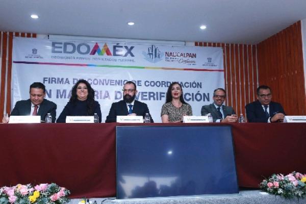 Reforzarán Naucalpan e INVEAMEX operativos en comercios