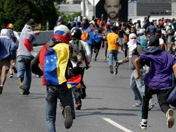 Muere funcionario en manifestación en Venezuela