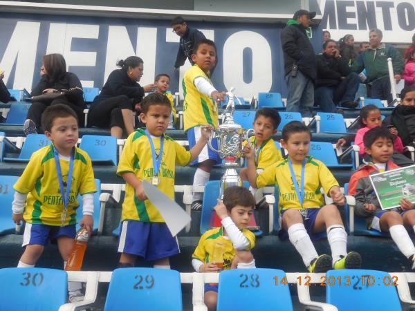 Beneficios del futbol para niños