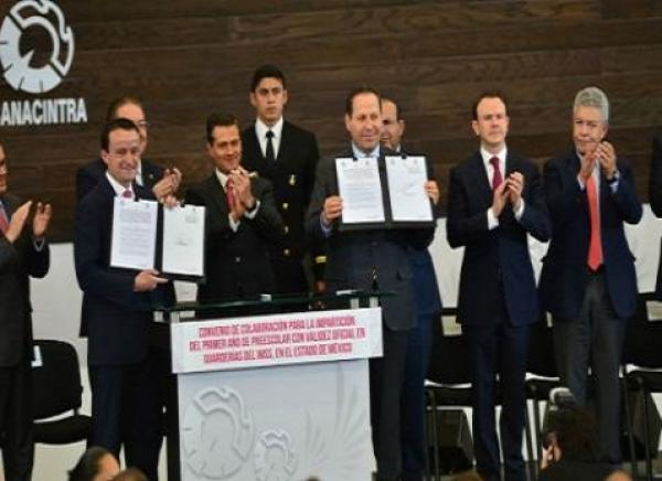 Guarderías IMSS en Edomex otorgarán certificados: Eruviel