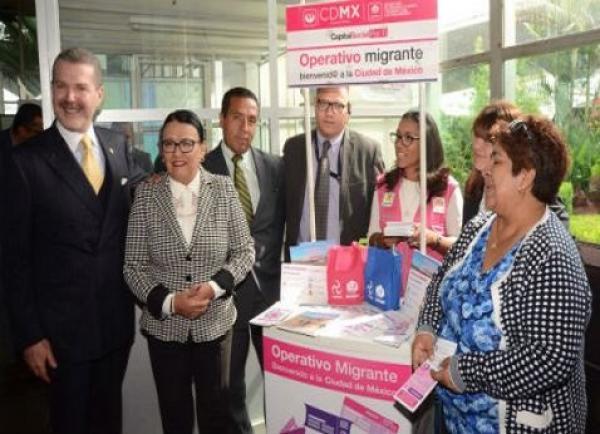 Gobierno de CDMX arranca Operativo Migrante 2017