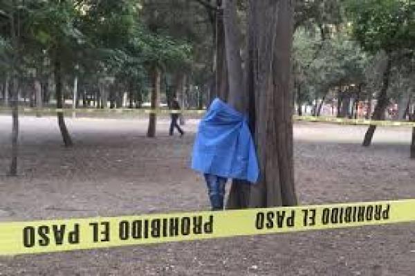 Encuentran hombre colgado frente a Museo Tamayo