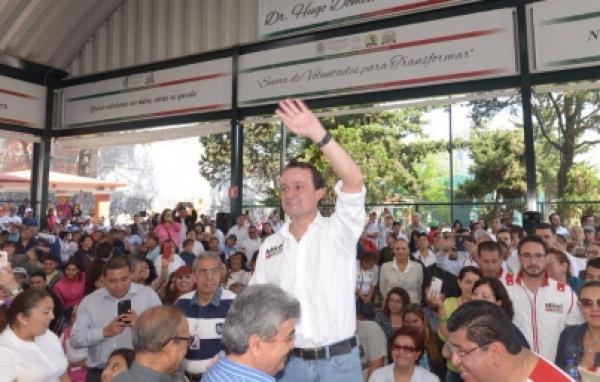 Mikel Arriola ofrece acabar con inseguridad en la Doctores