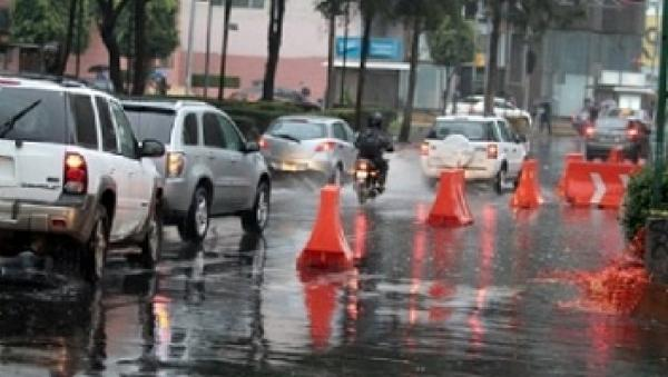 Registra CDMX lluvias ligeras generalizadas