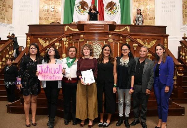 Clausura formal del Primer Parlamento de Mujeres de la CDMX