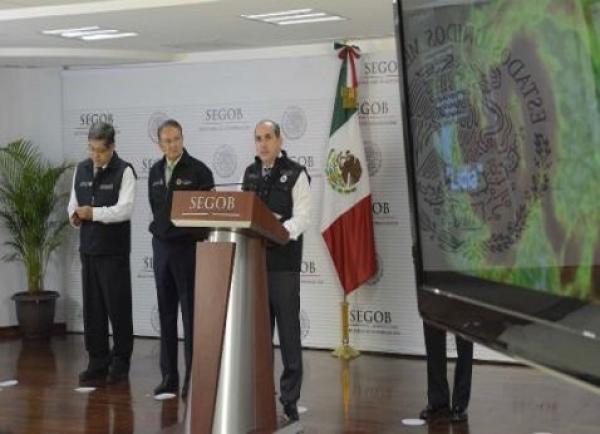Activan Plan MX debido a la tormenta tropical Lidia