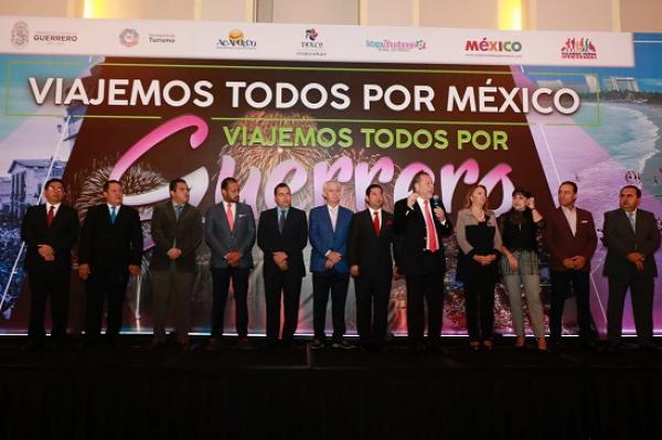 México y el Estado de Guerrero de pie en el fomento al turismo