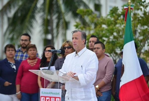 Meade anunció iniciativa para dar cárcel máxima a los corruptos