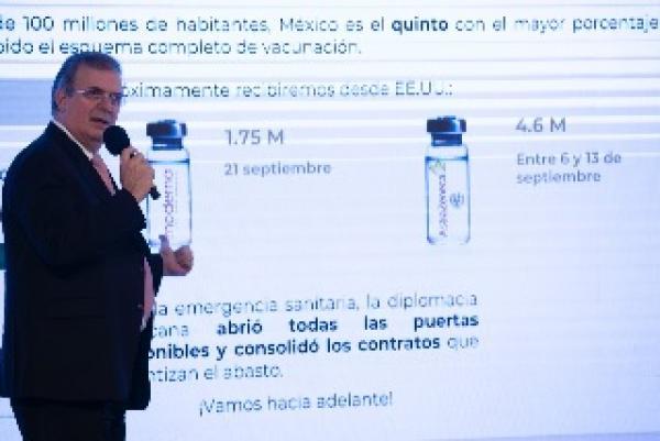 México superará los 100 millones de vacunas contra COVID-19