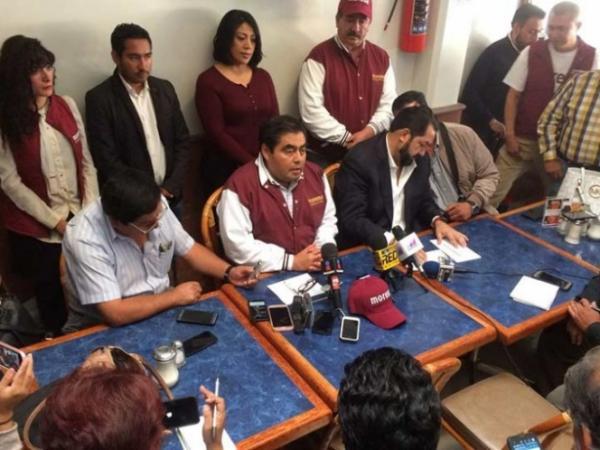 Se suman 9 exsenadores del PRD a campaña de Morena