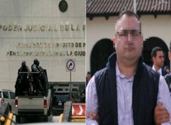 Javier Duarte es vigilado las 24 horas y no tiene privilegios