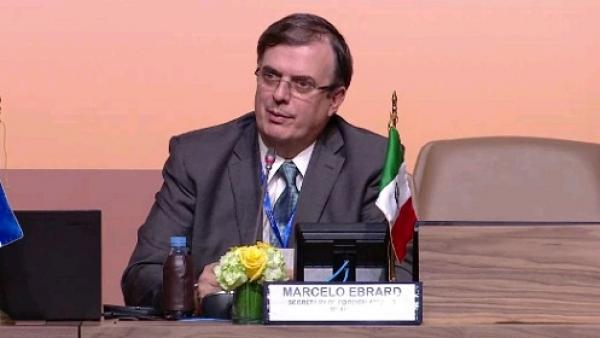 Marcelo Hrebrard participara con el tema Migración Segura.