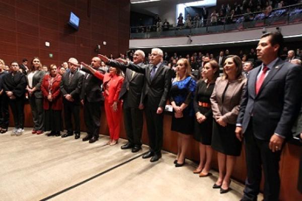 Marcelo Ebrard, agradece al Senado de la República su respaldo