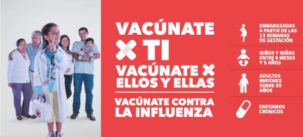 Contra la influenza: prevención y vacuna